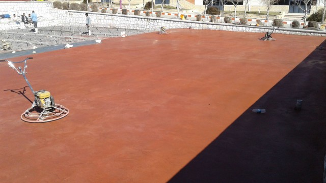 هاردنر بتن رنگی Color Hardener Concrete